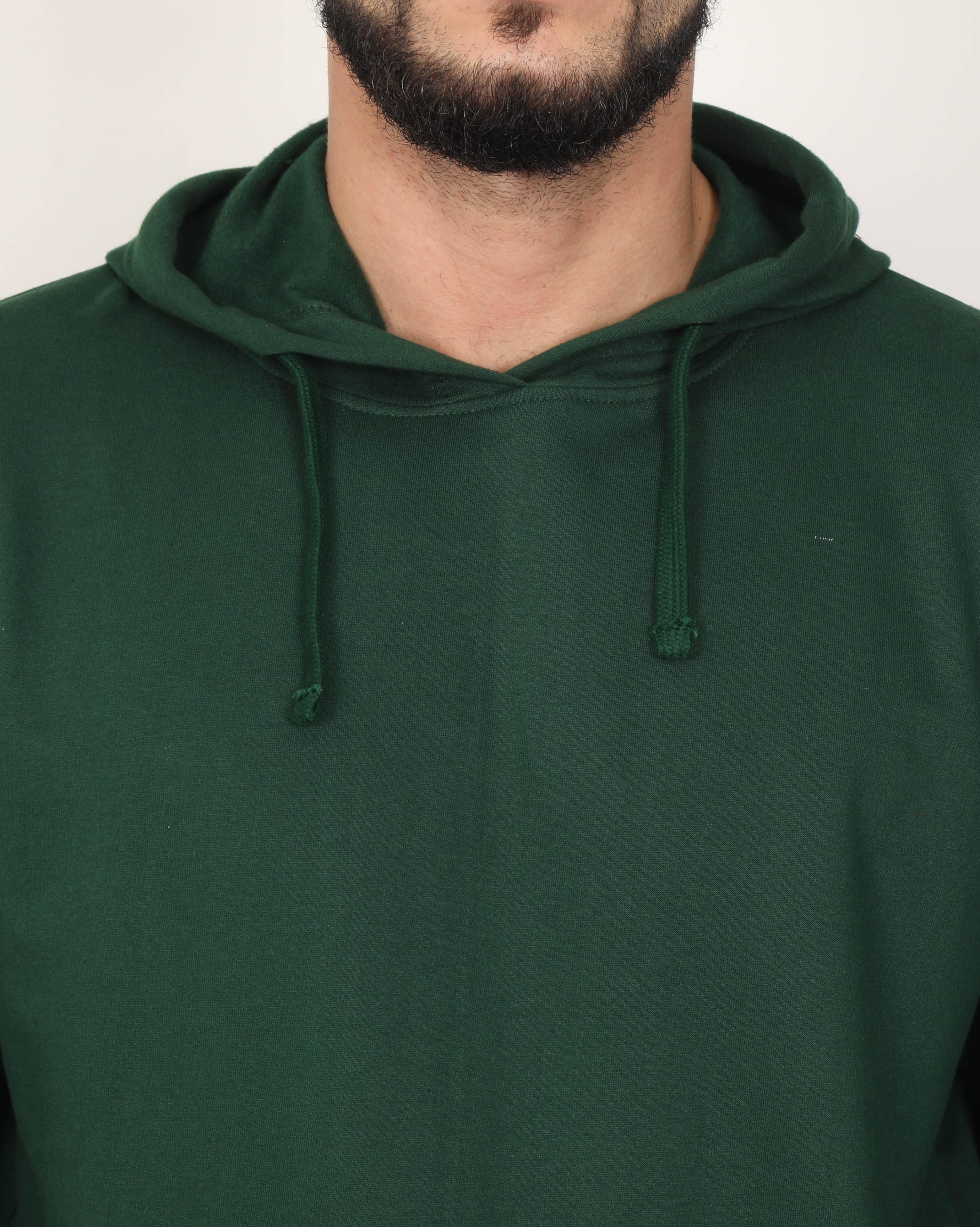 Men's Green Hoodie Sweatshirt