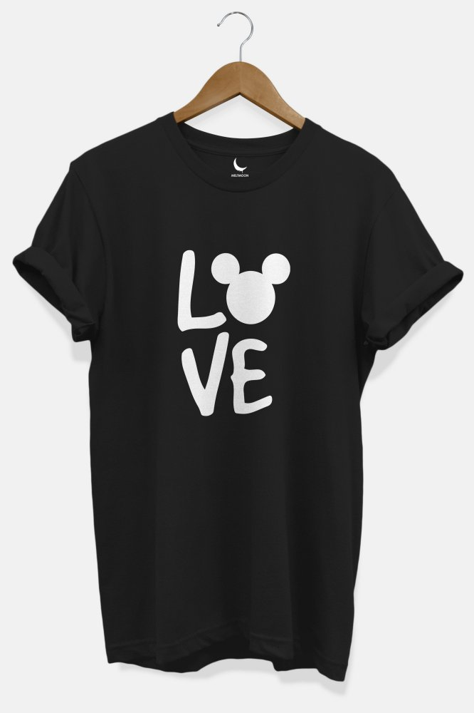 Love mickey coupel Tshirt
