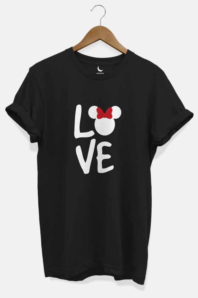 Love minnie Couple Tshirt