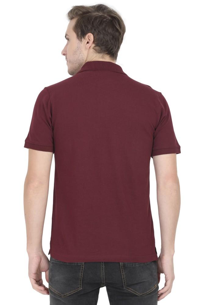 Maroon Polo Shirt For Men